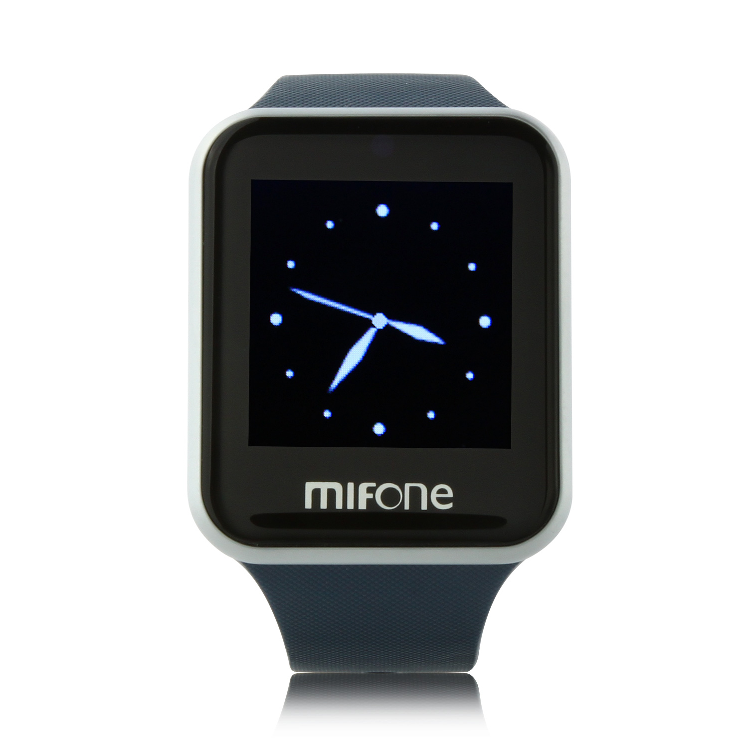 "MIFone W15 2.5D Sapphire Glass Smart Bluetooth Watch 1.5"" Screen TPSiV Safe Strap Blue"