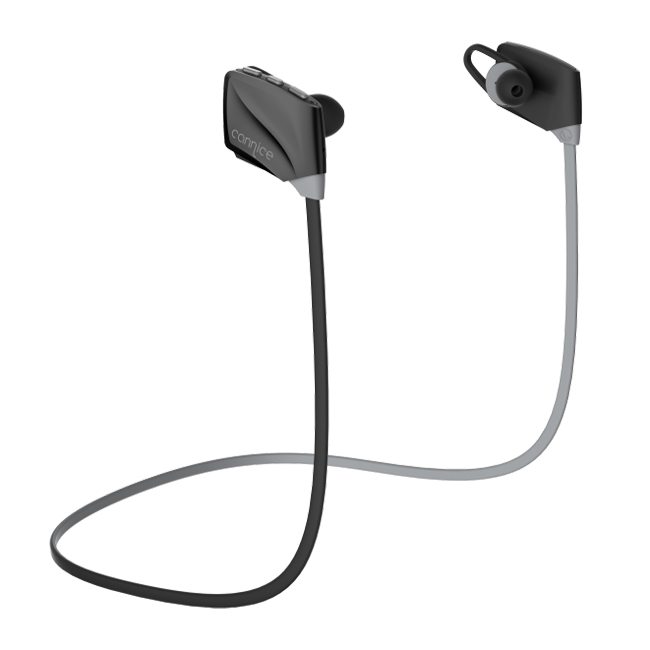 Cannice E1 Wireless Sport Earphone AptX HD 6thG CVC technology for Call and Music Black