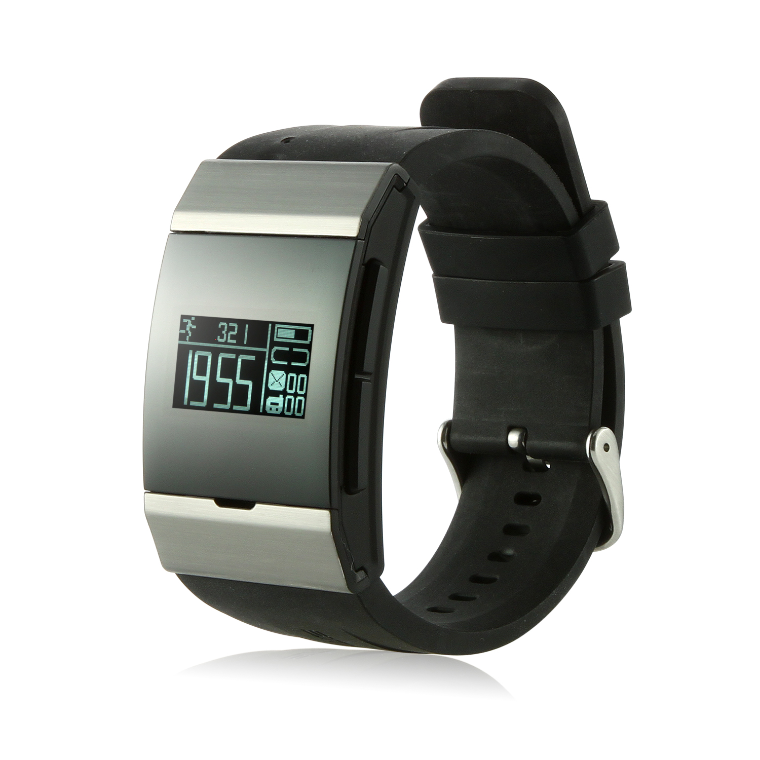 IL06 Smart Bluetooth Watch CSR Intercom Answer Pedometer for IOS/Android/Windows Black