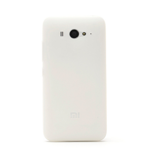 Original XIAOMI Protective TPU Back Case for Xiaomi M2 M2S White