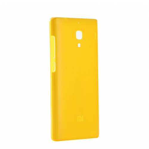 Original XIAOMI Protective Double Material Back Case for Xiaomi Redmi Yellow