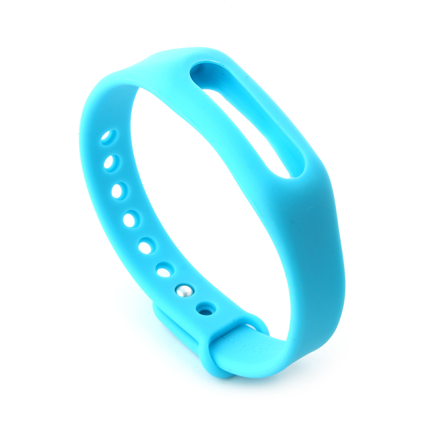 Replacement Wrist Strap Wearable Wrist Band for XIAOMI MI Band Bluetooth Bracelet- Blue