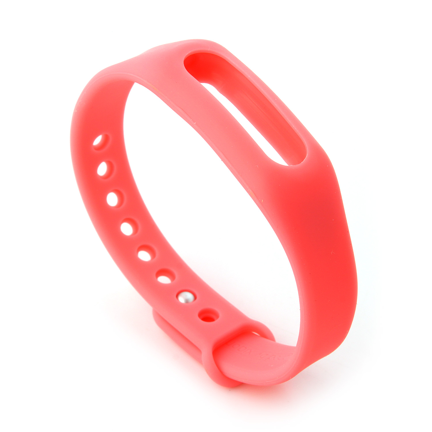 Replacement Wrist Strap Wearable Wrist Band for XIAOMI MI Band Bluetooth Bracelet- Pink
