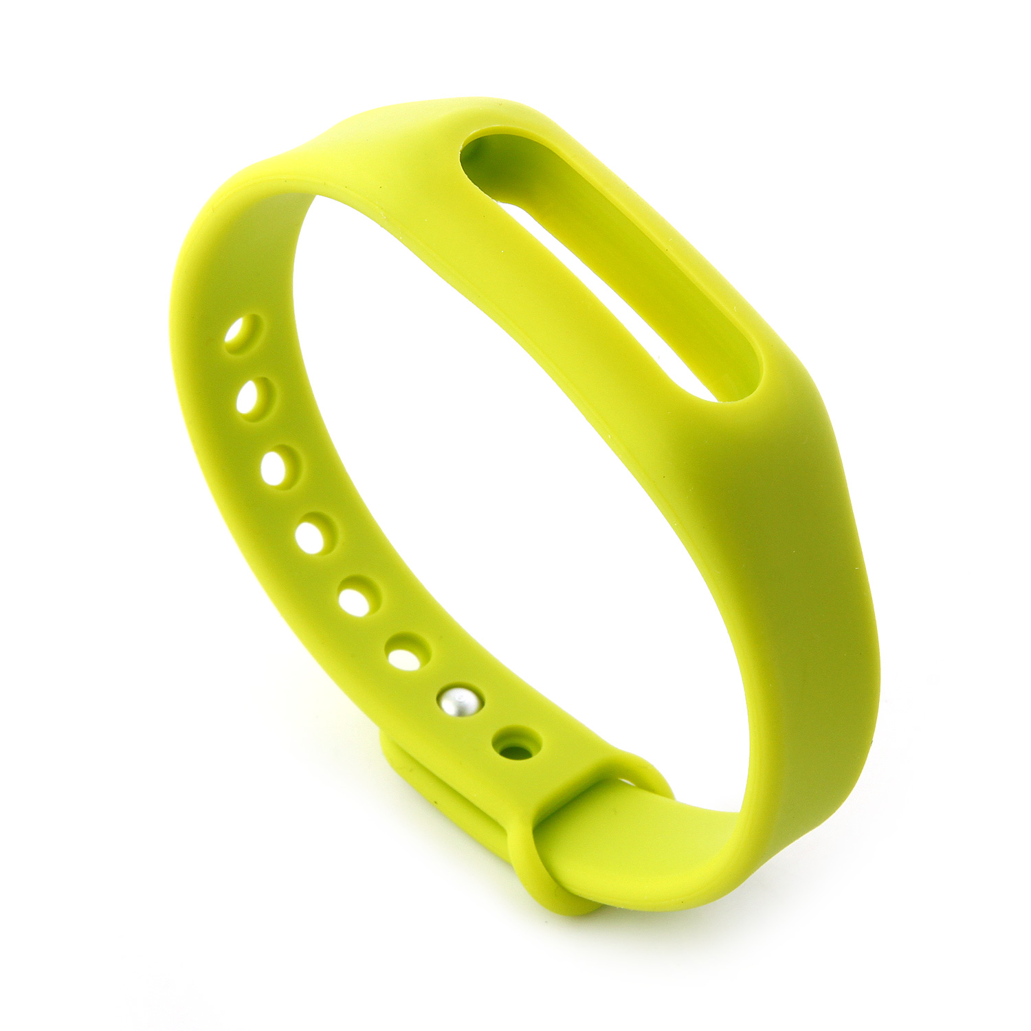 Replacement Wrist Strap Wearable Wrist Band for XIAOMI MI Band Bracelet- Green