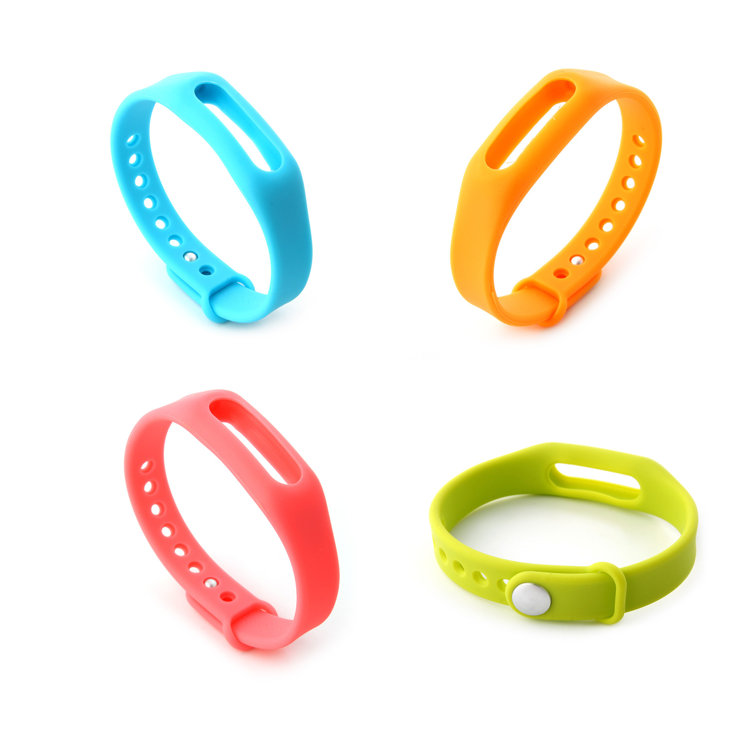 4PCS Replacement Wrist Strap Wearable Wrist Band for XIAOMI MI Band Bluetooth Bracelet