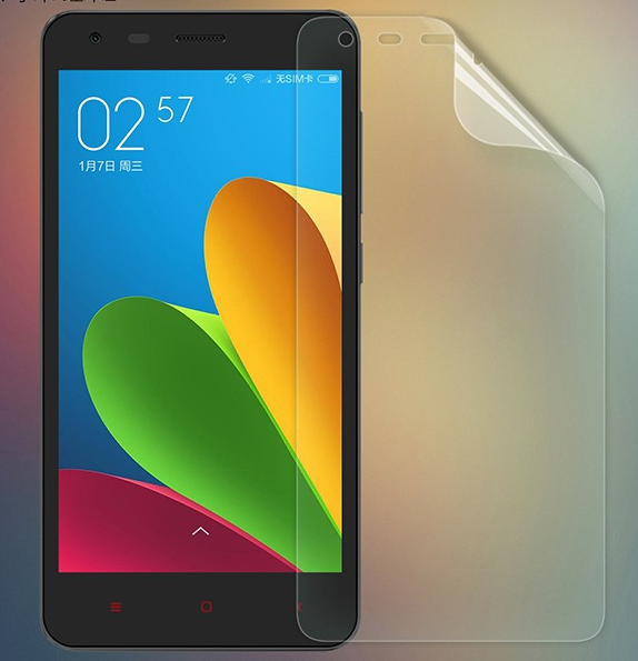 High Definition Film Screen Protector Protective Film for XIAOMI Redmi 2 Smartphone