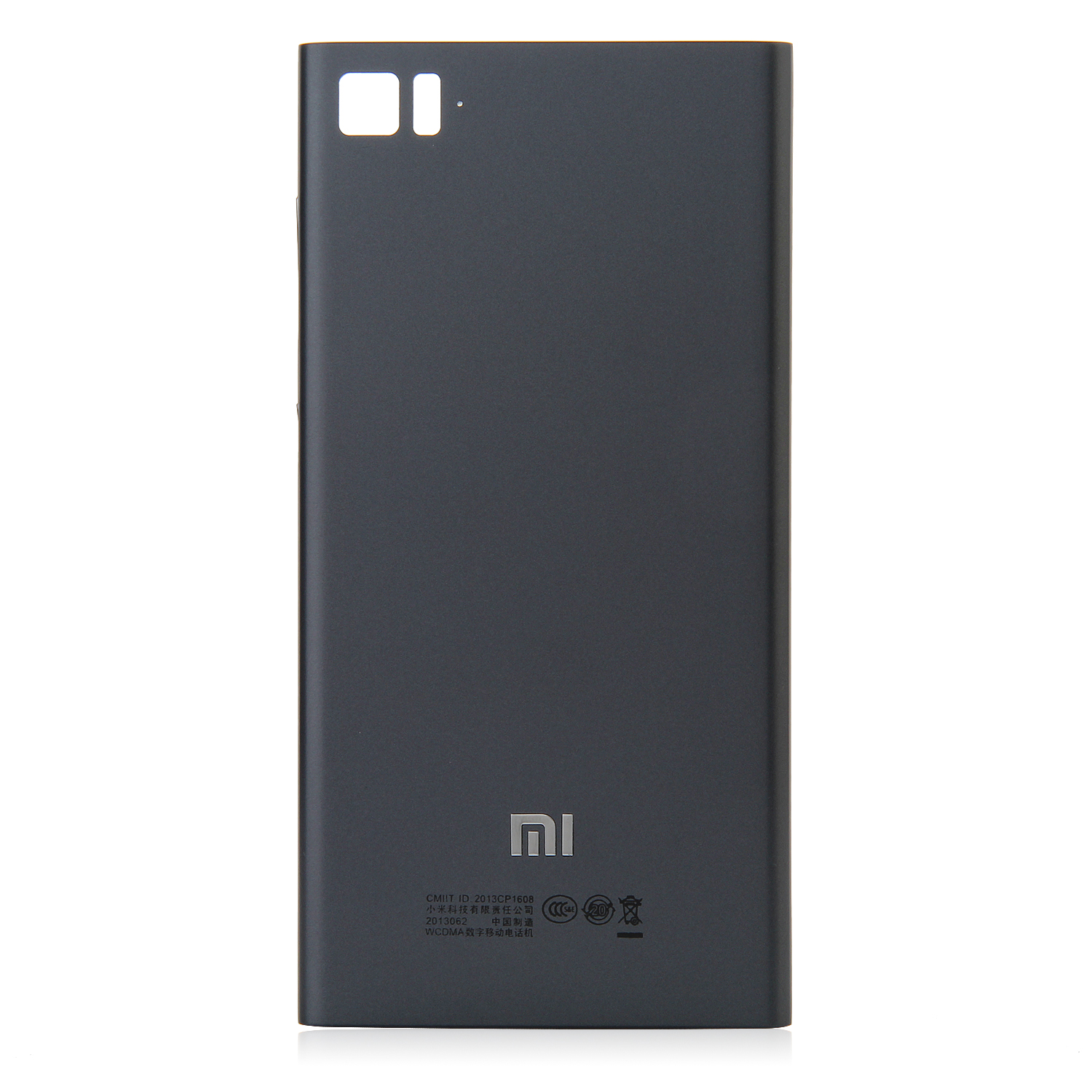 High Quality Replacement Battery Cover Back Case for XIAOMI MI3 Smartphone Silver Black