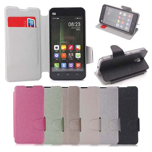 Protective Flip Cover Stand Leather Case for XIAOMI 2A 6 Colors