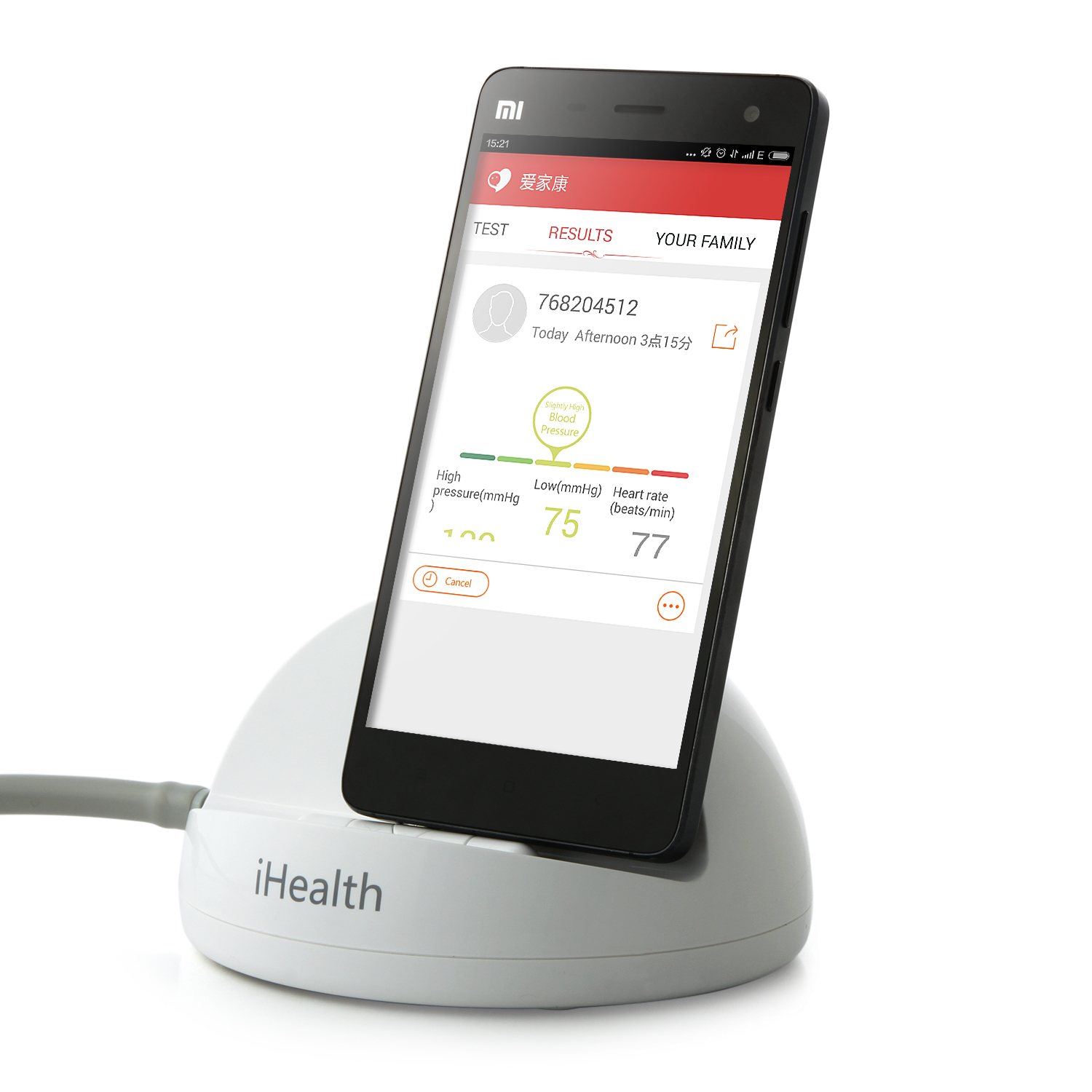 Original XIAOMI iHealth Smart Blood Pressure Dock Monitor BP3 for XIAOMI Redmi