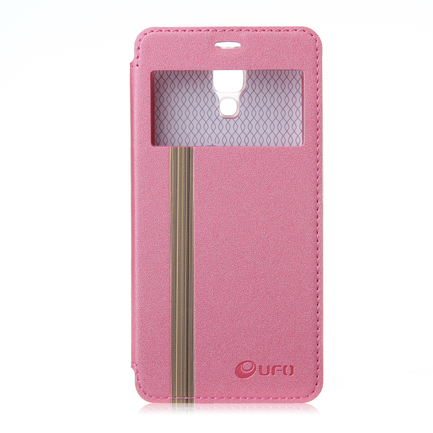 Leather Flip Cover Case Stand Case for XIAOMI MI4 Smartphone Pink