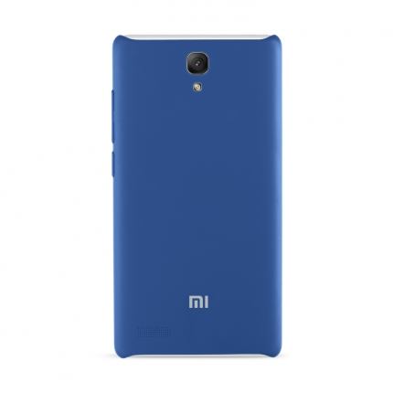 Original XIAOMI Protective TPU Back Case for Redmi Note Smartphone Dark Blue