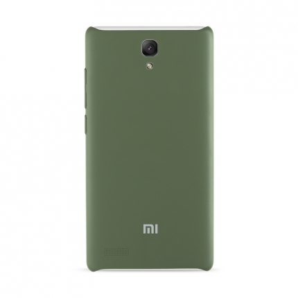 Original XIAOMI Protective TPU Back Case for Redmi Note Smartphone Army Green