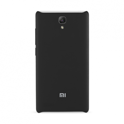 Original XIAOMI Protective TPU Back Case for Redmi Note Smartphone Black