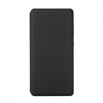 Original XIAOMI S-View Flip Cover Stand Leather Case for XIAOMI MI4 Black