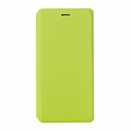 Original XIAOMI S-View Flip Cover Stand Leather Case for XIAOMI MI4 Green