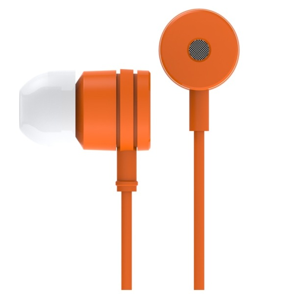 Original XIAOMI In-ear Earphone 3.5mm Stereo Earphone with Mic Control Talk Orange