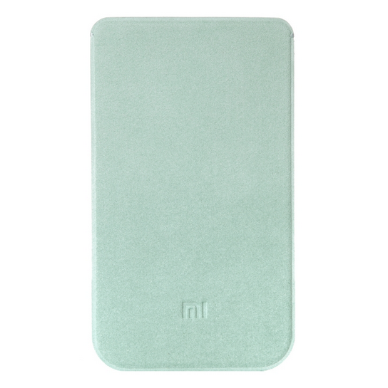 Original XIAOMI Microfiber Pouch Protective Case for XIAOMI MI4 Light Blue