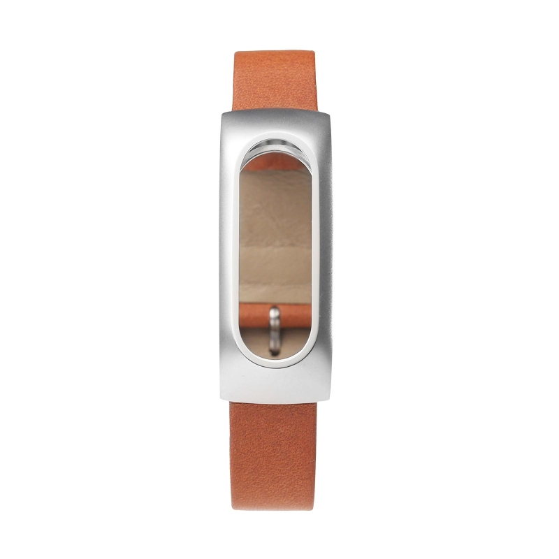 Original XIAOMI Genuine Leather Wrist Strap Wearable Wrist Band for MI Band Bracelet