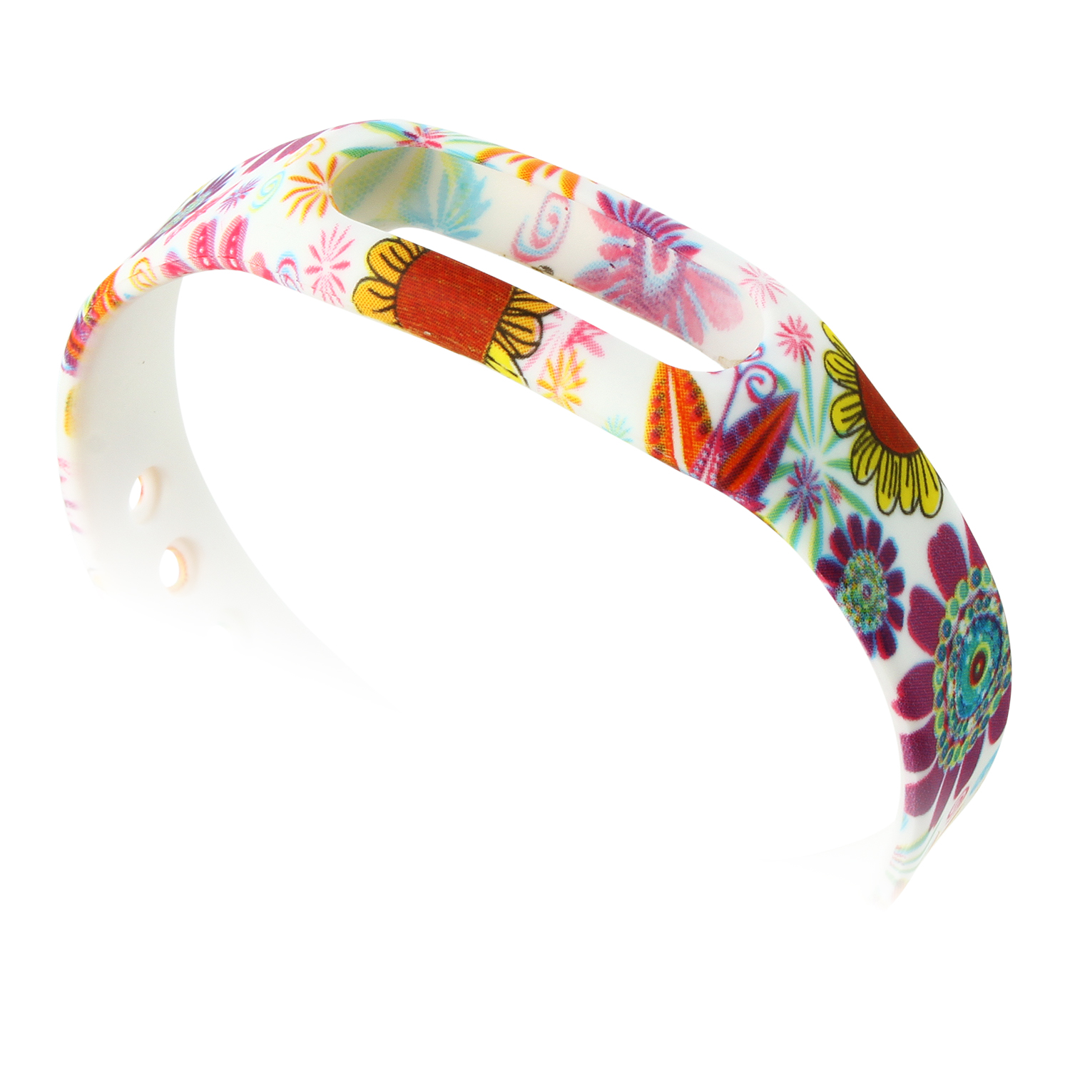 New Sunflower Pattern Replacement Wrist Strap Wearable Wrist Band for XIAOMI MI Band