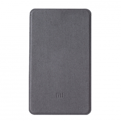 Original XIAOMI Microfiber Cloth Protective Case for Ultrathin 5000mAh Power Bank Grey