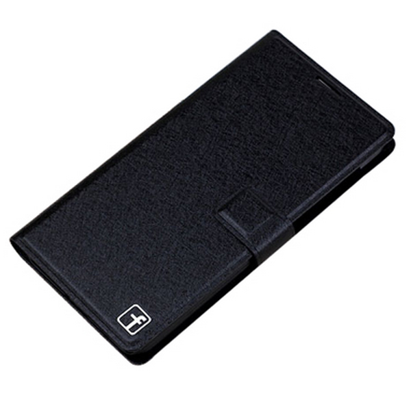 Protective Flip Cover Stand Leather Case for XIAOMI MI4 Black