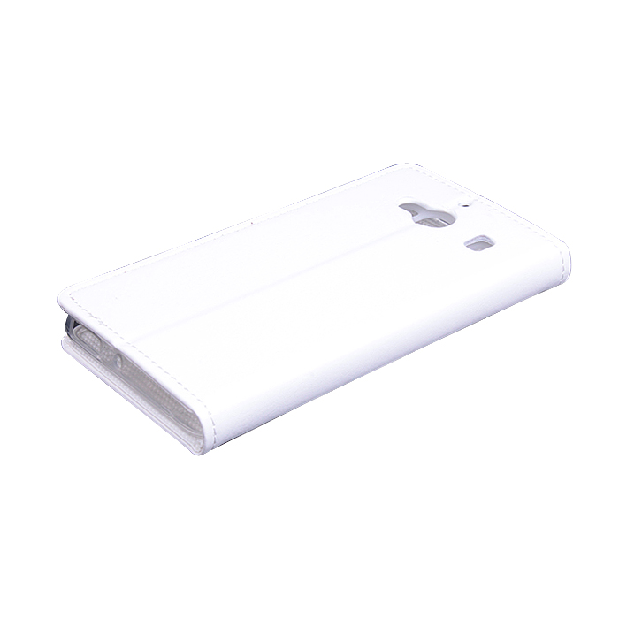 Leather Flip Cover Case Stand for XIAOMI Redmi 2 Smartphone White
