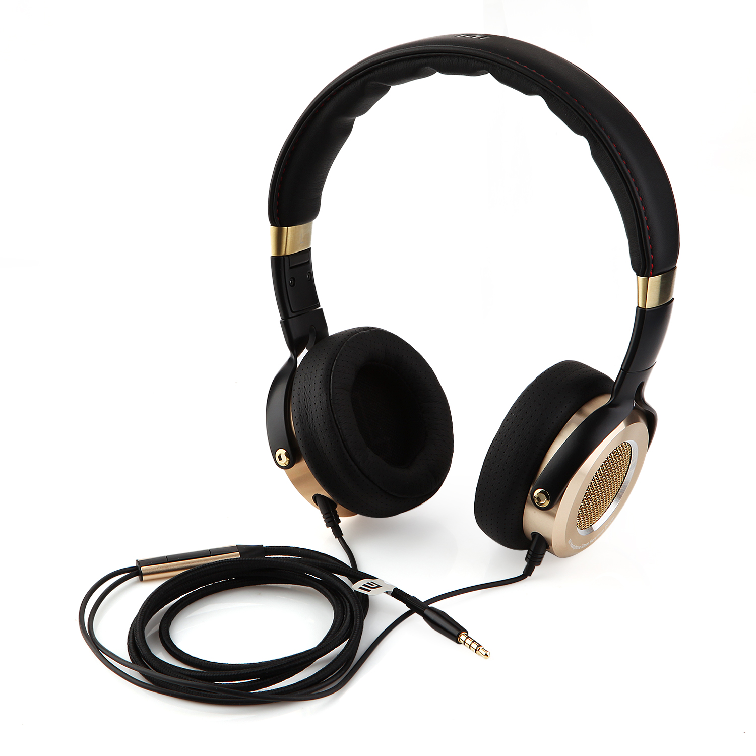 Original XIAOMI MI Headphone HiFi Headset Stereo Earphone with Mic for Phone PC