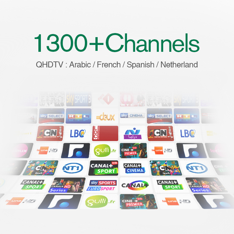 3 Months Arabic IPTV Code French Italian Turkish Portugal In Qhdtv Account Support Apk M3U SmartTV Mag