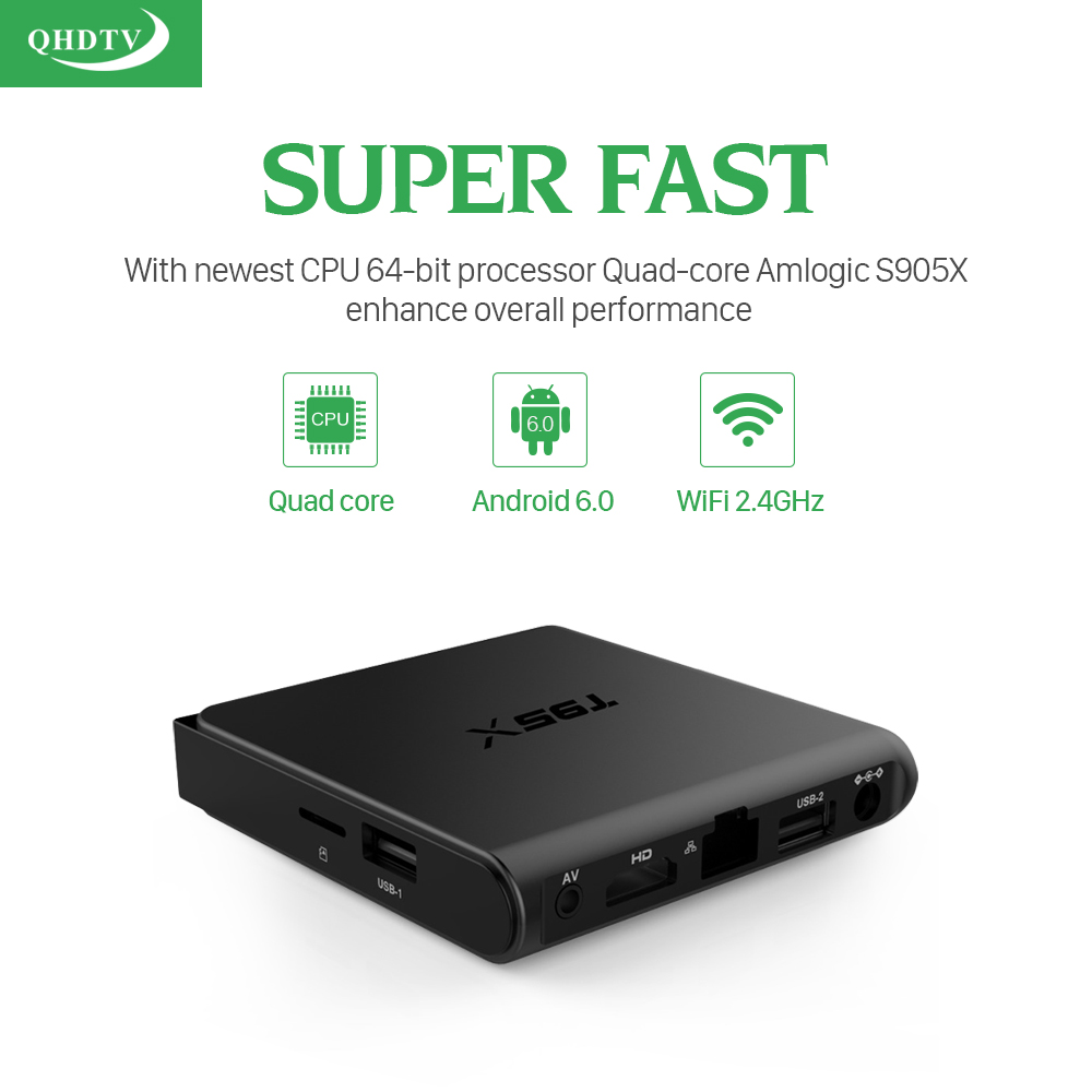 T95X European IPTV Box Android TV Box IPTV Receiver & 1300+French Turkish Netherlands Channels Better Than MXV Android TV Box With QHDTV