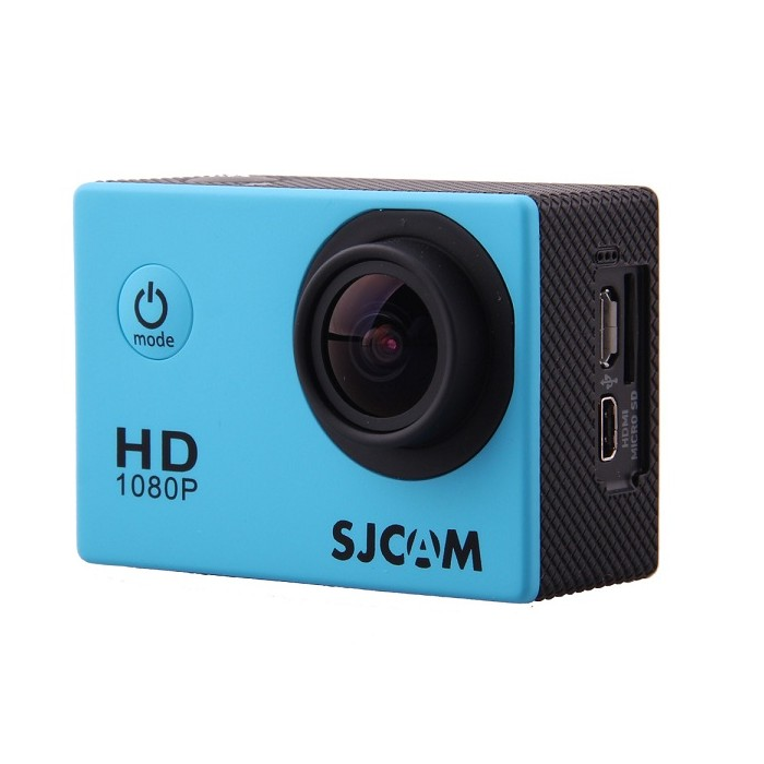 "SJCAM SJ4000 1.5"" TFT 12.0MP 2/3 CMOS Full HD Sports Digital Video Camera Blue"