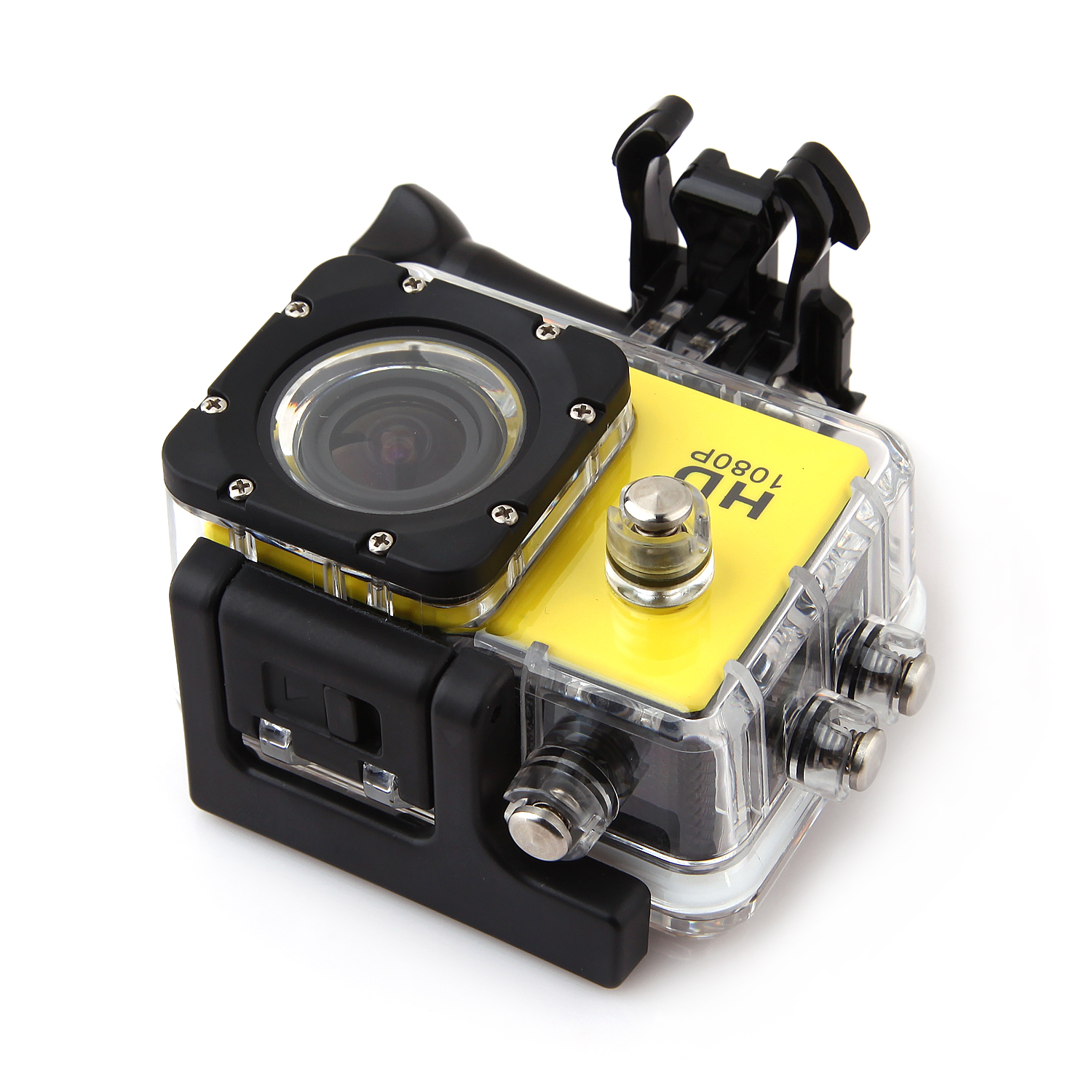 "SJCAM SJ4000 1.5"" TFT 12.0MP 1080P Full HD Sports Digital Camera Yellow"
