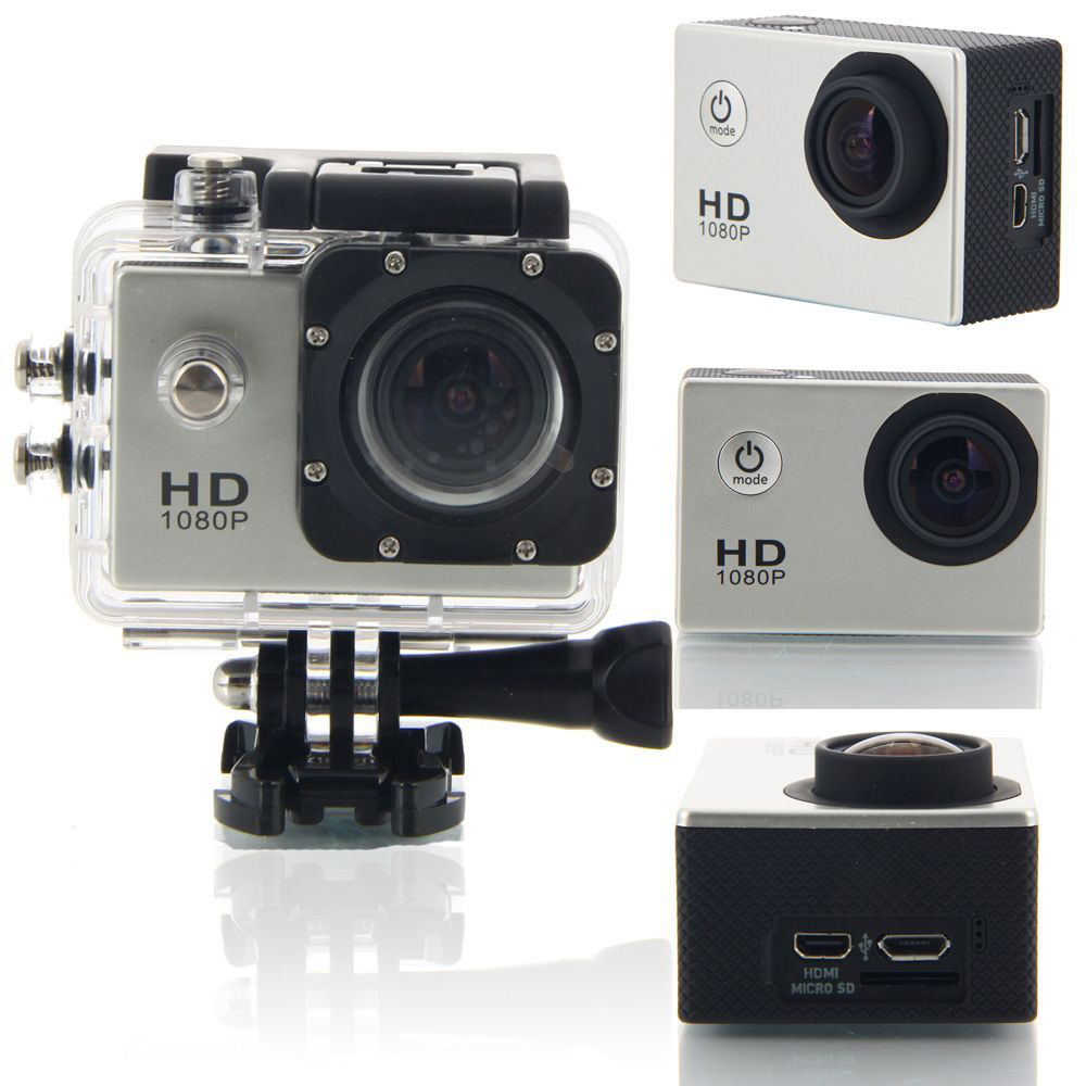 SJ4000 1.5 TFT 1080P Full HD Outdoor Sports Digital Video Camera Silver