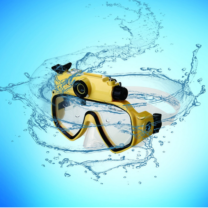 Waterproof Camera Scuba 720P Digital Diving Camera Mask-30M Underwater Swim Cam