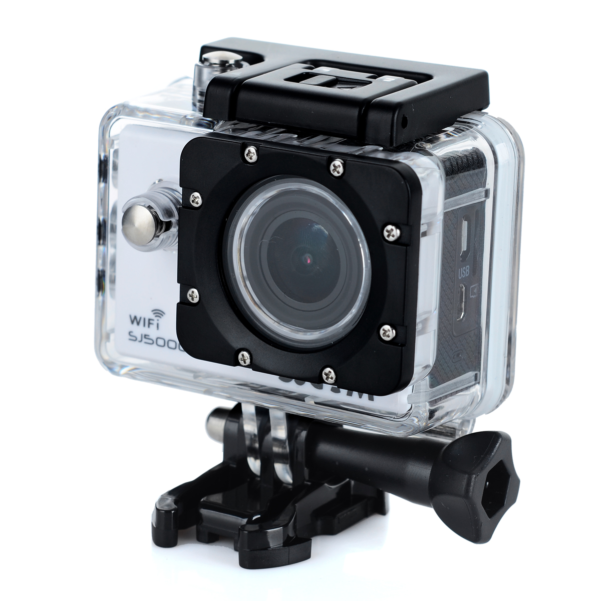 Original SJCAM SJ5000 Plus 16MP WiFi Action HD Camera Ambarella A7LS75 Waterproof White