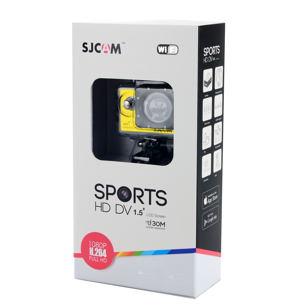 Original SJCAM SJ5000 WiFi Action HD Camera 14MP Novatek 96655 1080P Waterproof Yellow
