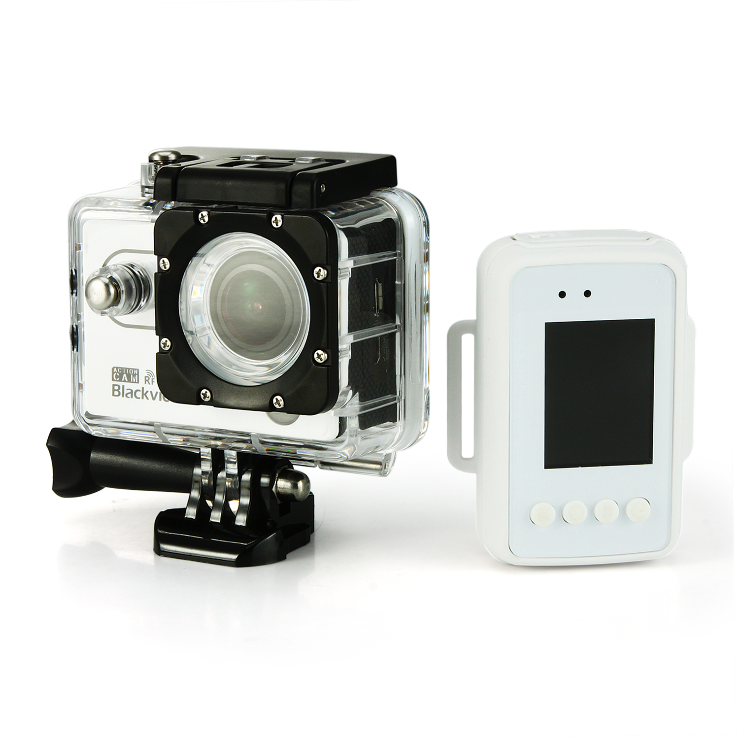 "Blackview Hero 2 16M 2.4G RF AMBA7LA50 2.0"" LCD Sport Video Camera Camcorder White"