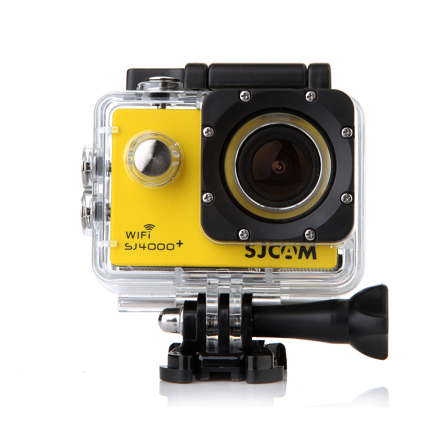 "SJCAM SJ4000 Plus WIFI Version 12M 1.5"" LCD Waterproof Sport Video Camera Yellow"