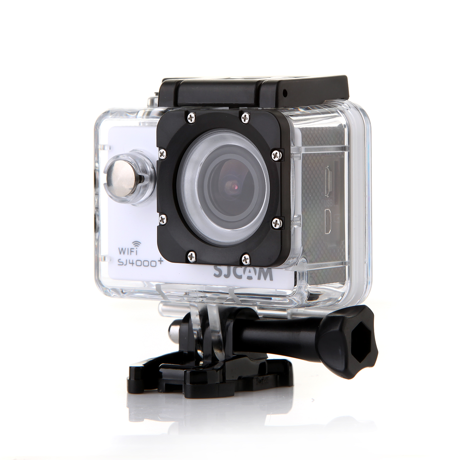 "SJCAM SJ4000 Plus WIFI Version 12M 1.5"" LCD Waterproof Sport Video Camera White"