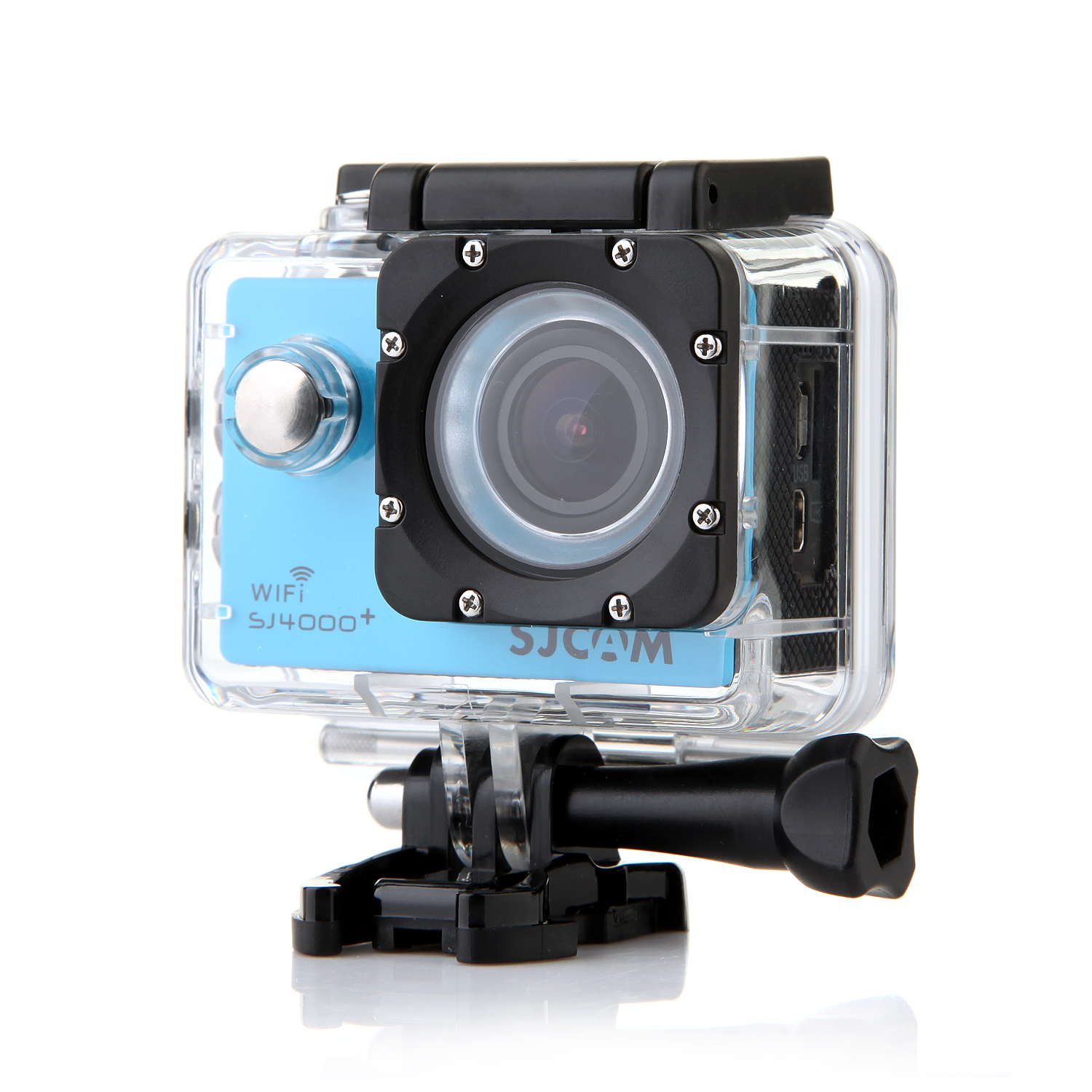 "SJCAM SJ4000 Plus WIFI Version 12M 1.5"" LCD Waterproof Sport Video Camera Blue"