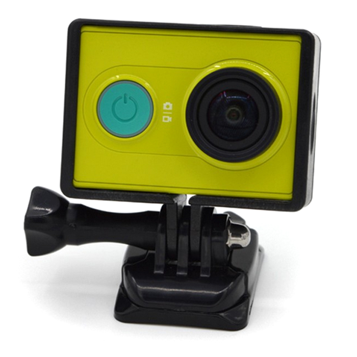 Protective Frame Quick Release Buckle Mount Base for Xiaomi Yi Action Camera