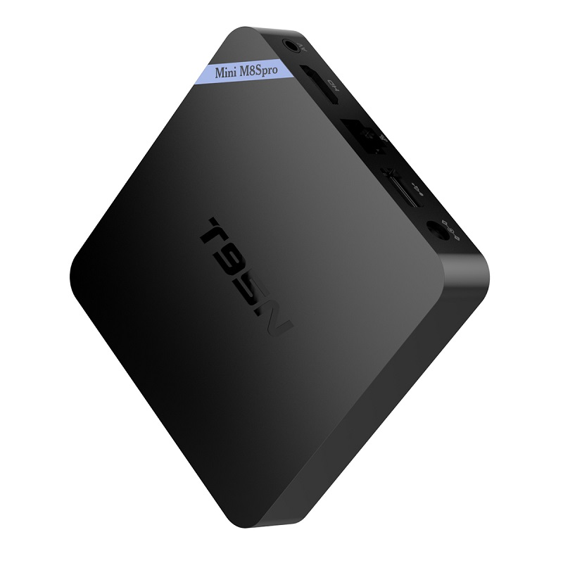 T95N Mini M8S Pro m8spro Android 6.0 TV Box S905X Quad Core Wifi Kodi16.0 2G 8G Memory Smart Set top Box Emmc DDR3