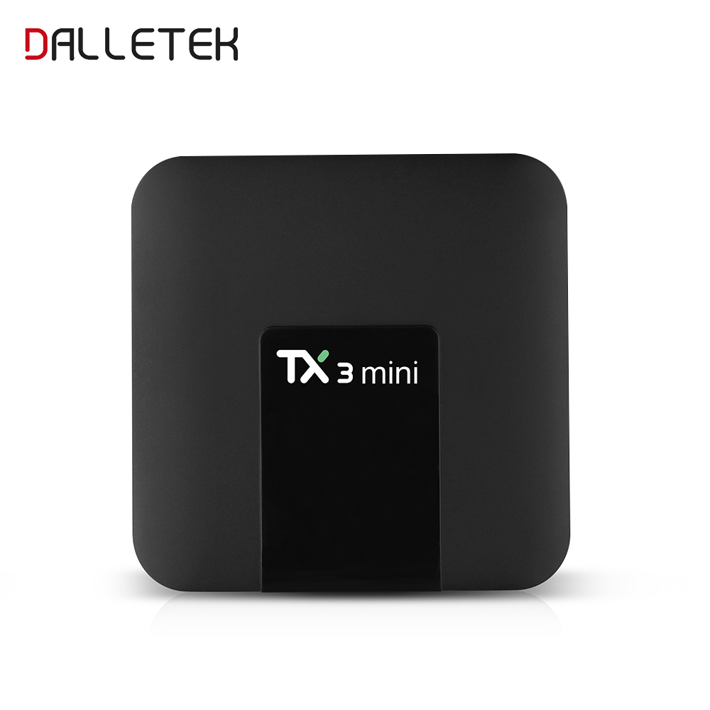 Android 7.1 Amlogic S905W Quad core 1/8GB & 2/16GB TV Box TX3 MINI Support WIFI Set Top Box