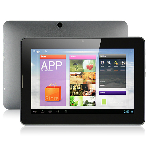 PIPO U1Pro Dual Core Tablet PC 7 Inch IPS RK3066 Android 4.1 16GB Dual Camera HDMI Gray