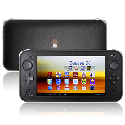 Used JXD S7300 Dual Core Game Tablet PC 7 Inch Android 4.1 1GB RAM 8GB Camera Black
