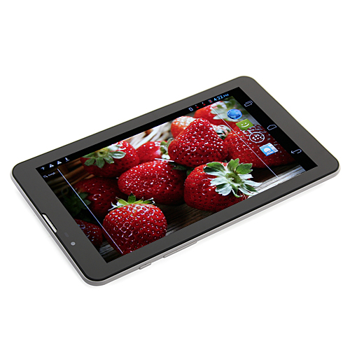 MTP211 MTK8377 Dual Core Tablet PC 7 Inch Android 4.1 3G GPS Bluetooth 4GB Monster Phone Dual Camera Silver