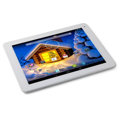 "Freelander PD80 3GS MTK8382 Quad Core Tablet PC 9.7"" Android 4.2 1GB RAM 16GB Silver"
