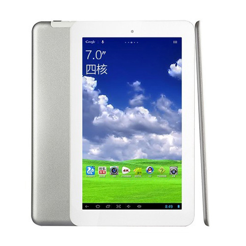 ONDA V701S Quad Core A31S Tablet PC 7 Inch Android 4.2 8GB 4K Video Silver
