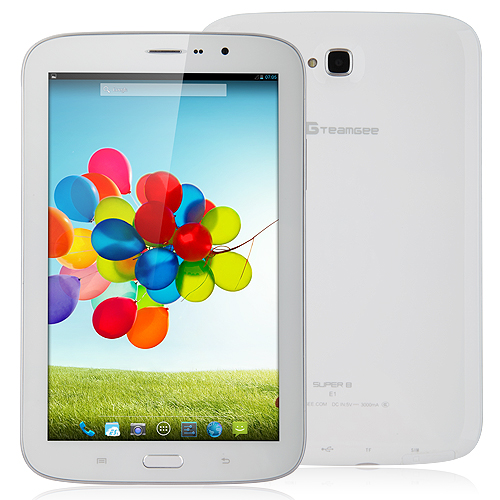 TG Super8 E1 Exynos 5 Octa 5410 Tablet PC 8 Inch IPS Screen Android 4.2 2GB RAM 16GB 3G GPS Monster Phone White
