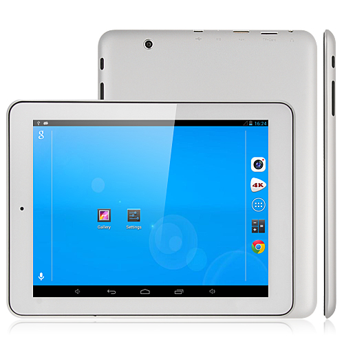 MTP217 Quad Core A31S Tablet PC 8 Inch IPS Screen Android 4.1 1G Ram 8G 4K Video Silver