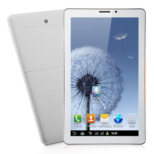 MTP235 MTK6515 Tablet PC 9 Inch Android 4.1 2G/GSM Monster Phone Bluetooth Dual Camera White